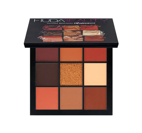 Huda Beauty - Obsessions eyeshadow Warm Brown