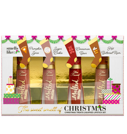 Too Faced - The Sweet Smell of Christmas set de labiales