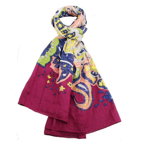 Matisse Scarf - Multicolor - WorldFinds (S)