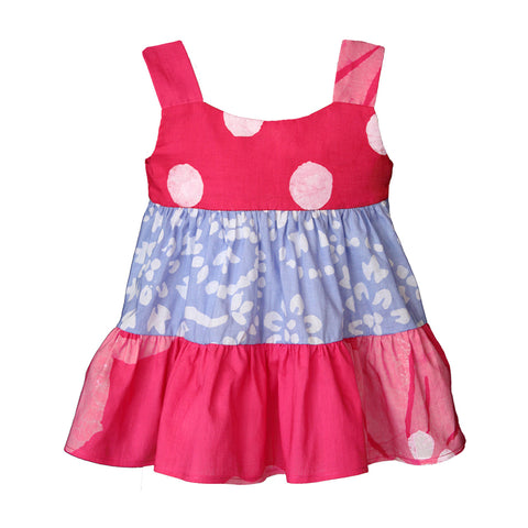 Babies Gypsy Dress-Patchwork-Primrose - Global Mamas (B)