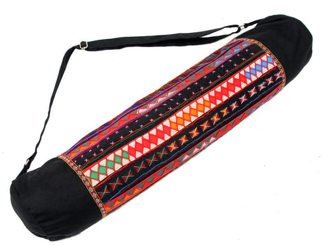 Akha Hilltribe Yoga Mat Bag - Global Groove (Y)