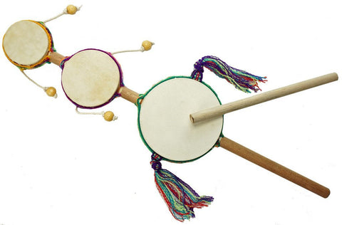 Junior Triple Spin Drum - Jamtown World Instruments