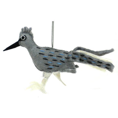 Felt Roadrunner Ornament - Silk Road Bazaar (O)