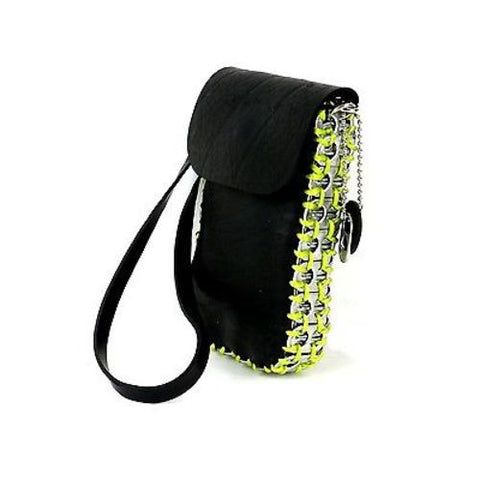 Tire and Poptop Smartphone Bag - Green - ImagineArte