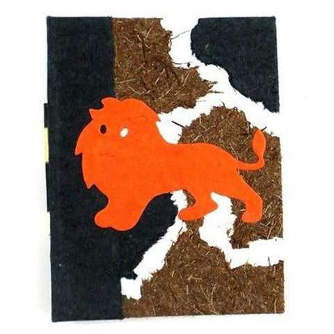 Lion Mini Notebook - Eco Africa