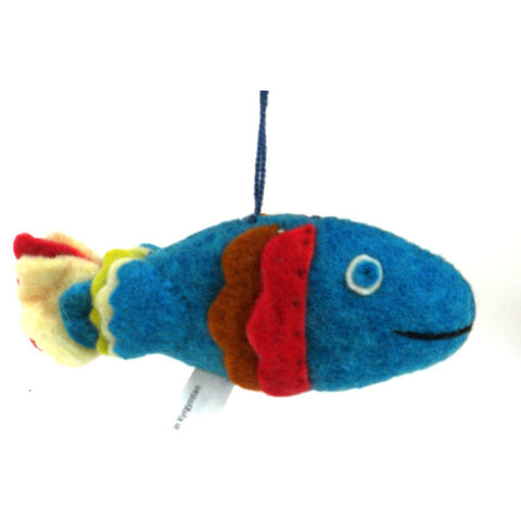 Felt Fish Ornament - Silk Road Bazaar (O)