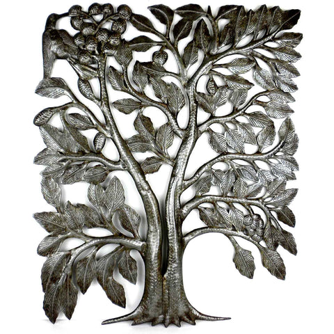 Haitian Metal Wall Art - Split Tree - 003 - Croix des Bouquets