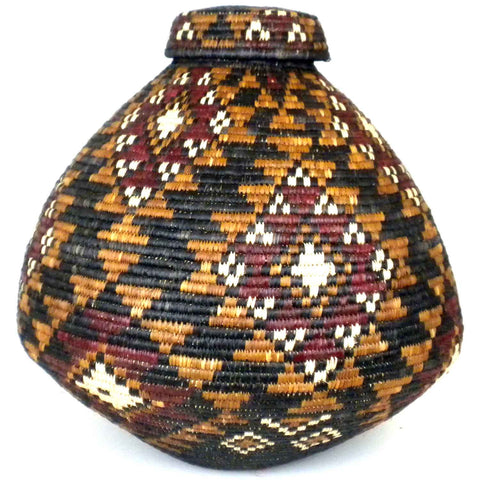 Zulu Wedding Basket -005 - Ilala Weavers