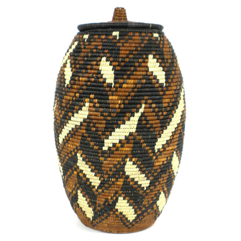 Zulu Wedding Basket - 039 - Ilala Weavers