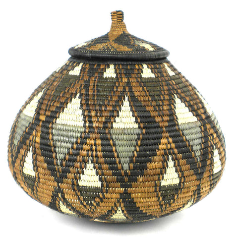 Zulu Wedding Basket - 040 - Ilala Weavers