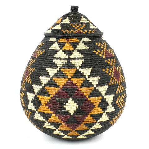 Zulu Wedding Basket - 041 - Ilala Weavers