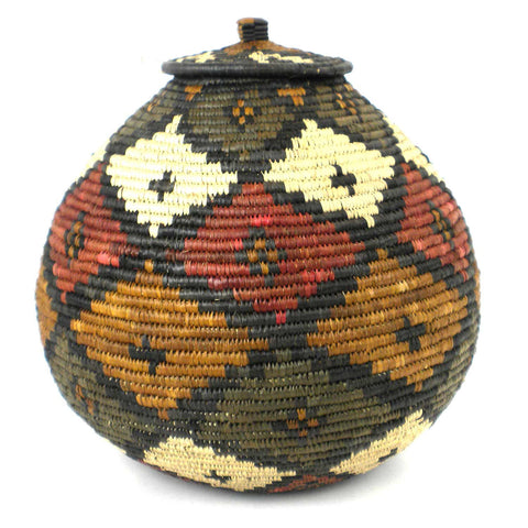 Zulu Wedding Basket - 044 - Ilala Weavers
