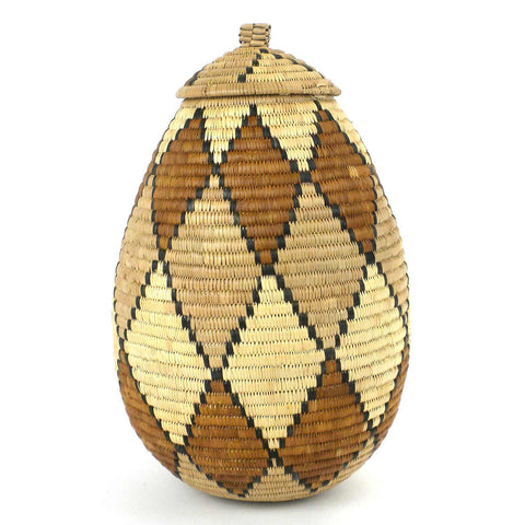 Zulu Wedding Basket - 045 - Ilala Weavers