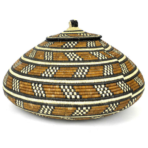 Zulu Wedding Basket - 57 - Ilala Weavers