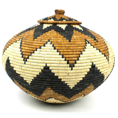 Zulu Wedding Basket - 072 - Ilala Weavers
