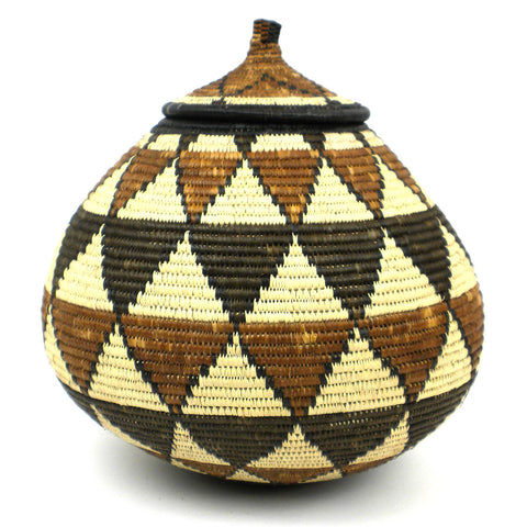Zulu Wedding Basket - 074 - Ilala Weavers