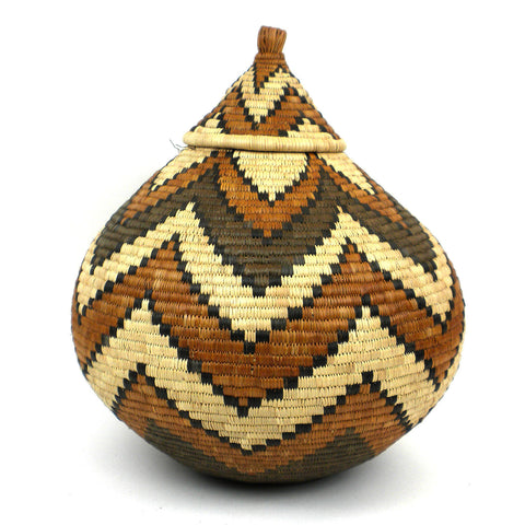 Zulu Wedding Basket - 075 - Ilala Weavers