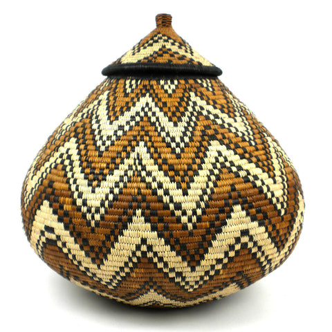 Zulu Wedding Basket - 076 - Ilala Weavers