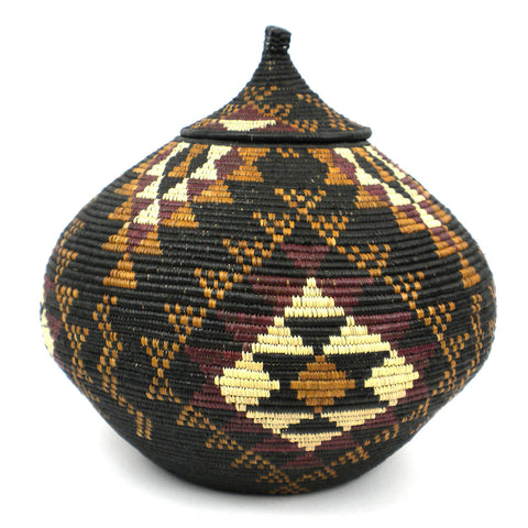 Zulu Wedding Basket - 078 - Ilala Weavers