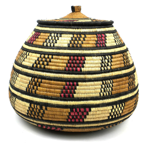 Zulu Wedding Basket - 082 - Ilala Weavers