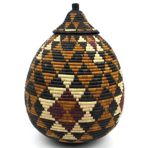 Zulu Wedding Basket - 083 - Ilala Weavers