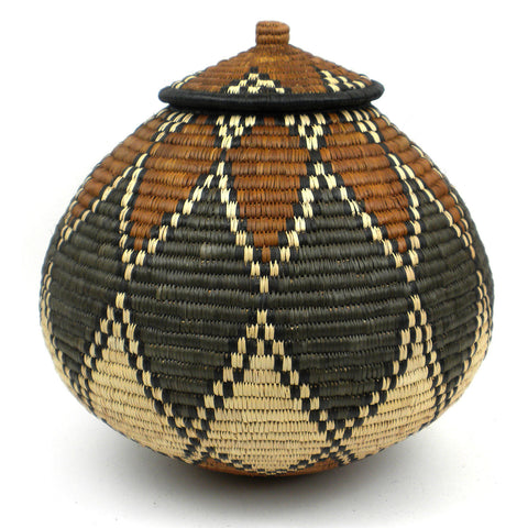 Zulu Wedding Basket - 084 - Ilala Weavers
