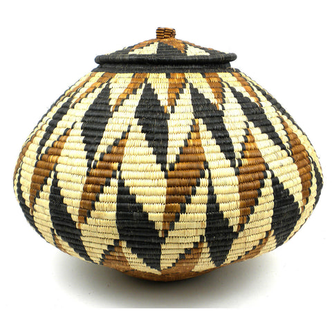 Zulu Wedding Basket - 085 - Ilala Weavers