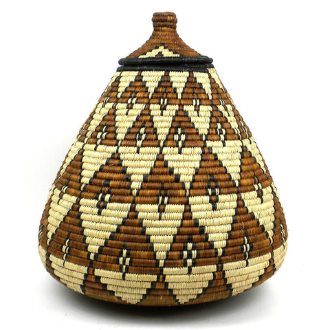 Zulu Wedding Basket - 086 - Ilala Weavers