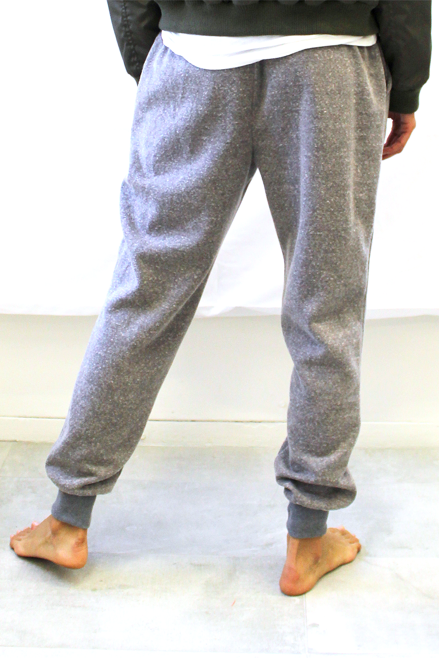Patched Jogger Pants
