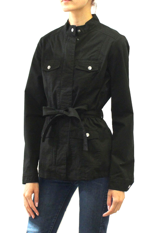 Classic Belted Utility Jacket