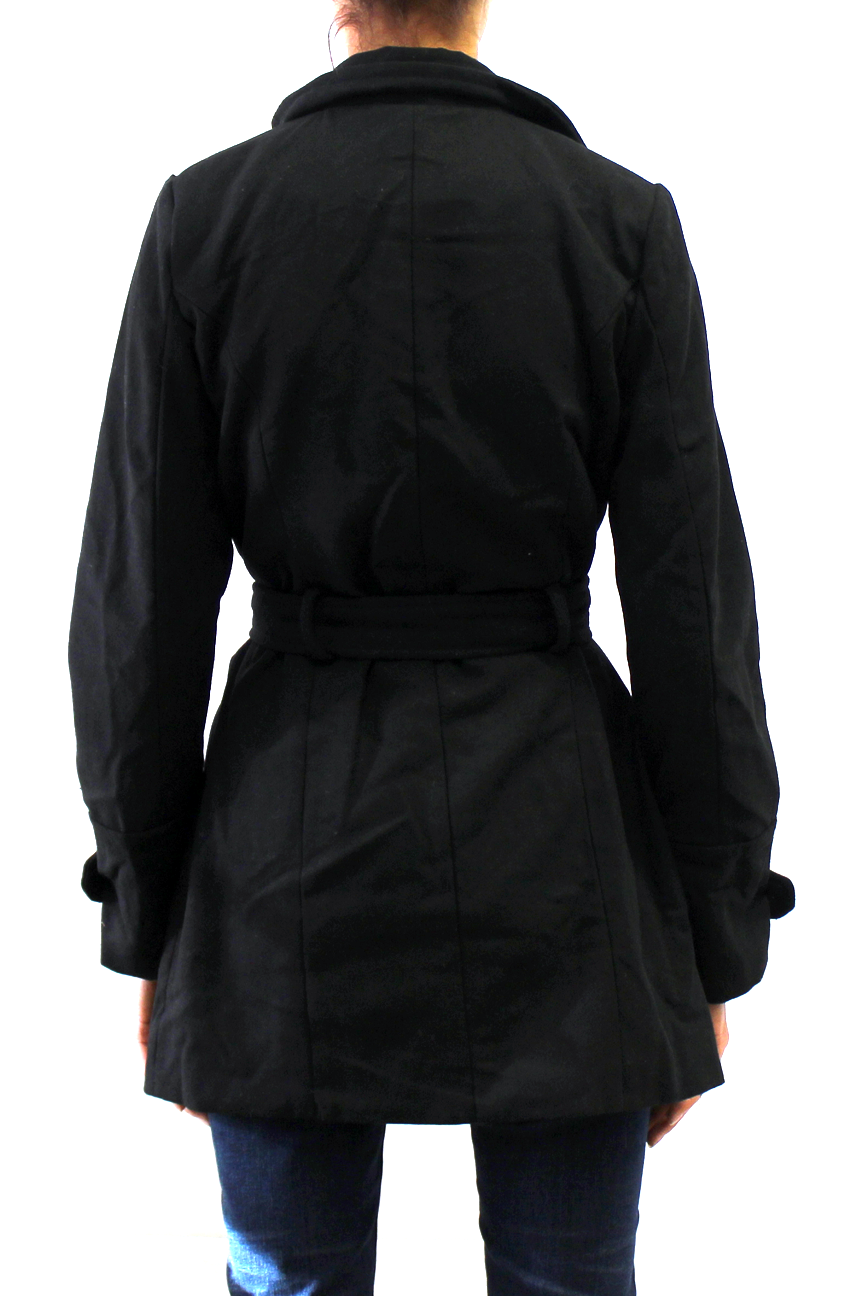 Women's Belted Wool Coat