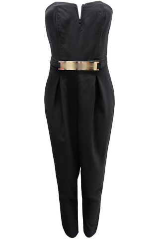 Gold Plate Jumpsuit