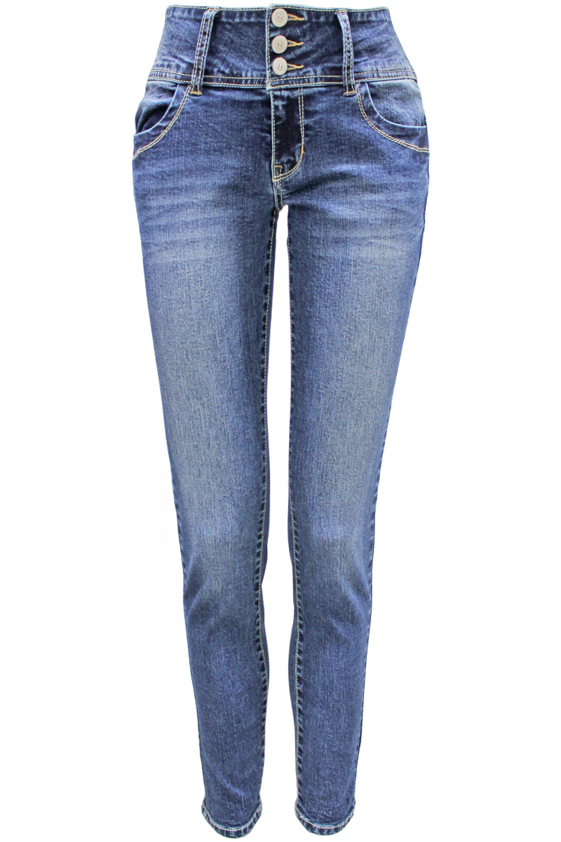 high waisted jeans dark wash