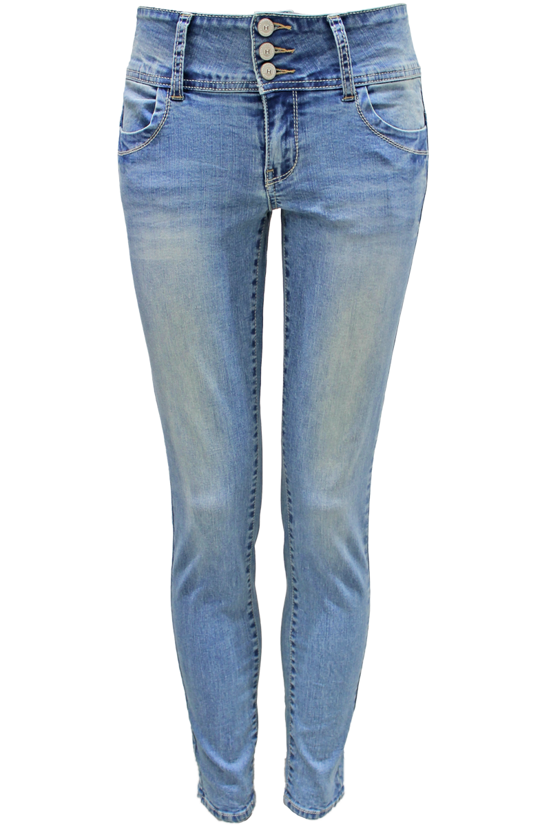 high waisted jeans medium wash