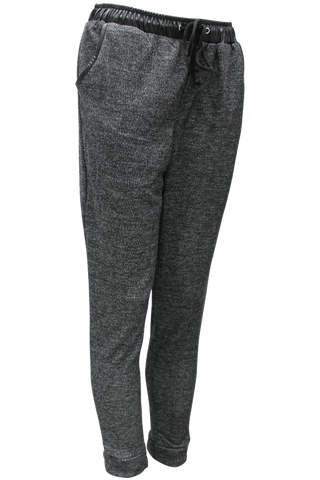 Melange Track Pant - New Look - 1
