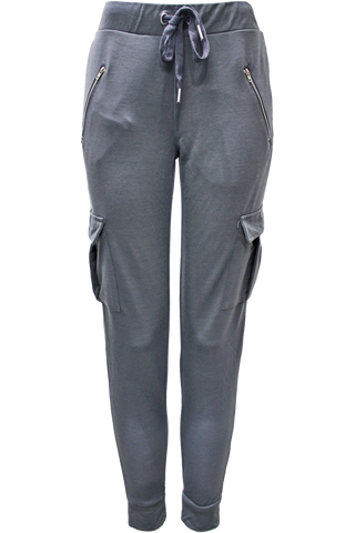 Slim Fit Cargo Sweatpant