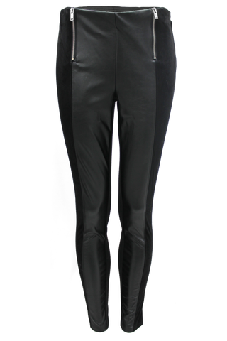 Faux Leather Legging - New Look - 1