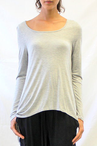 Long Sleeve Hi-Lo Tee