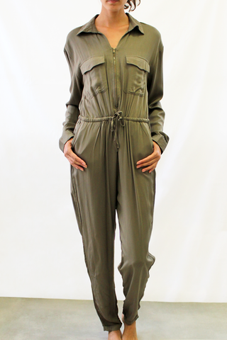 Zipper Flight Suit