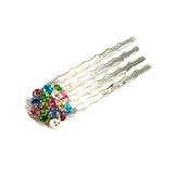 Small Swarovski Cluster Hair Comb Set of 6_No.1001 - Hair Cosmopolitan