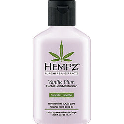 Travel Size Vanilla Plum Herbal Body Moisturizer - Hair Cosmopolitan
