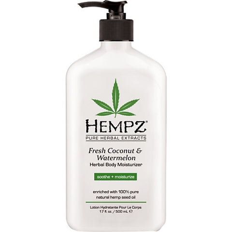 Fresh Coconut And Watermelon Herbal Body Moisturizer - Hair Cosmopolitan