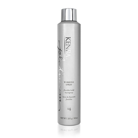 KENRA PROFESSIONAL Platinum Working Spray 14 - Hair Cosmopolitan