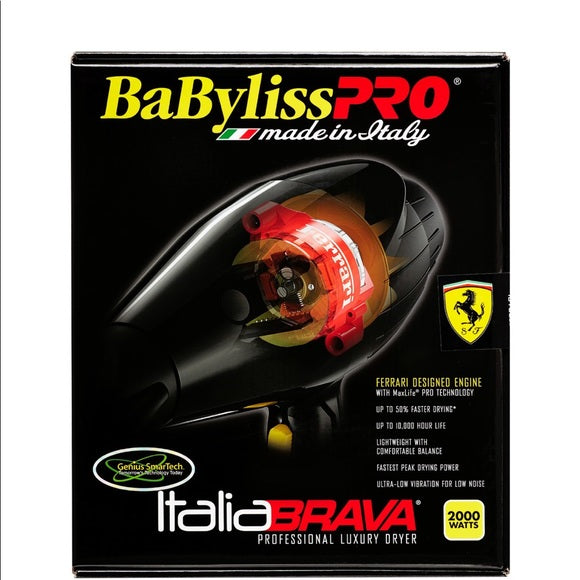 BaBylissPRO Italia BRAVA Hair Dryer - Hair Cosmopolitan