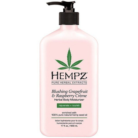Blushing Grapefruit & Raspberry Creme Herbal Body Moisturizer - Hair Cosmopolitan