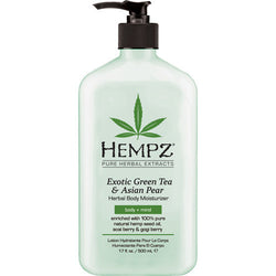Exotic Green Tea & Asian Pear Herbal Body Moisturizer - Hair Cosmopolitan