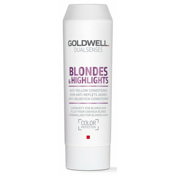 Goldwell Dualsenses Blondes & Highlights Anti-Yellow Conditioner - Hair Cosmopolitan