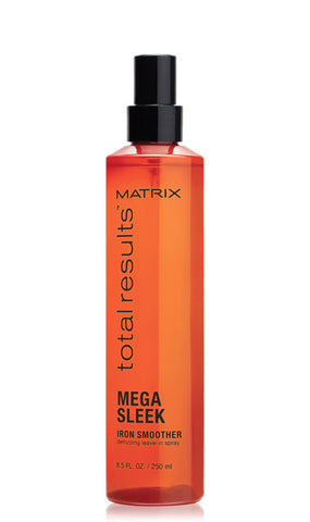 TOTAL RESULTS MEGA SLEEK IRON SMOOTHER Defrizzing Leave-In Spray - Hair Cosmopolitan