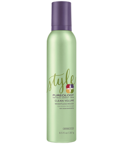 Pureology CLEAN VOLUME WEIGHTLESS MOUSSE - Hair Cosmopolitan