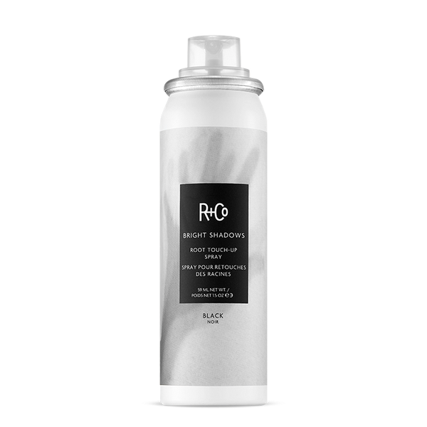 R+Co BRIGHT SHADOWS ROOT TOUCH-UP SPRAY: BLACK - Hair Cosmopolitan